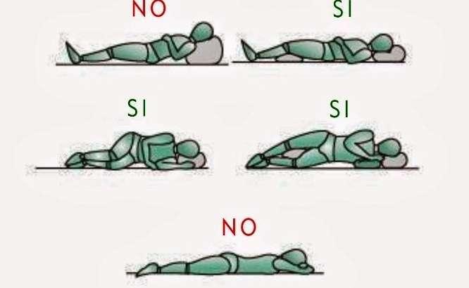 Posizioni consigliate per dormire